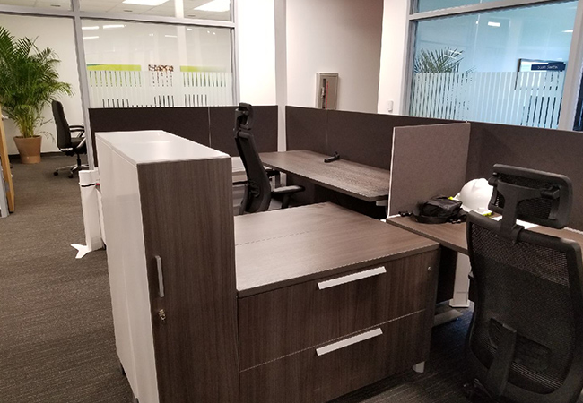 corporate office reconfiguration experts in Jacksonville and north florida